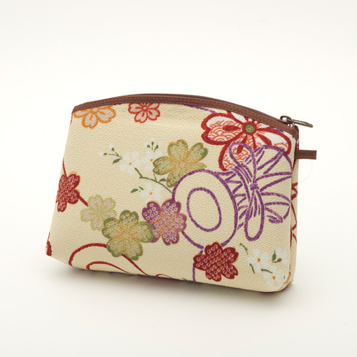 Pouch with Japanese Pattern