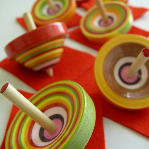 Make Your Own Kyoto Spinning Top